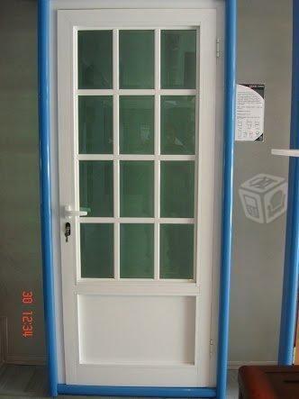 Puerta de Aluminio Blanco Nueva