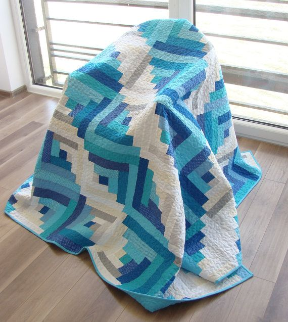 SALE 10% OFF  Throw Quilt / Custom Quilt by Hearttoheartquilts