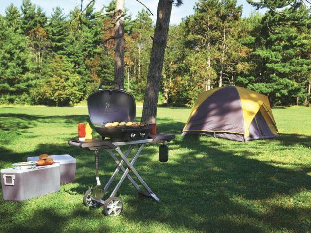 Un barbecue portatif idéal pour les campings