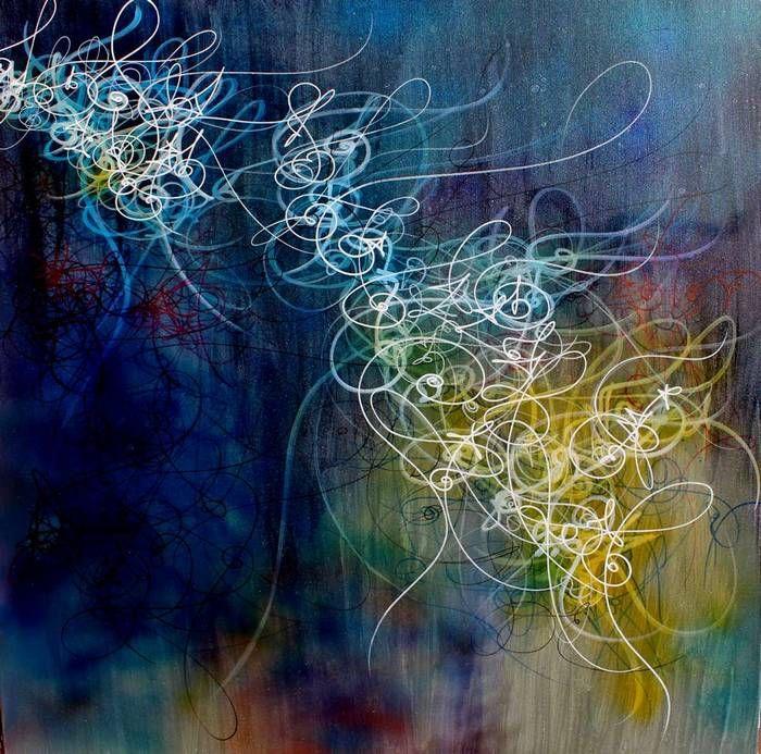 Nuno de Matos Artworks - Post Graffiti - Abstract Writing - http://www.nunodematos.com