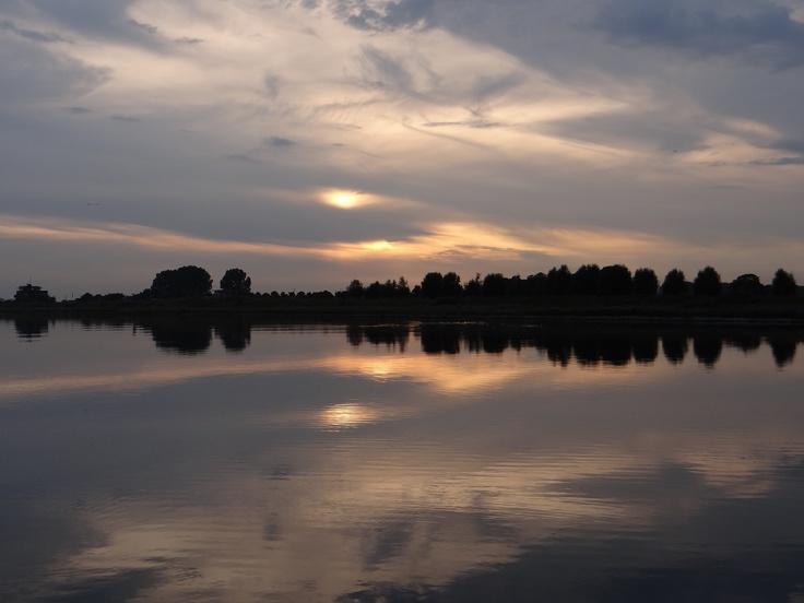 Sunset at Eiland van Maurik