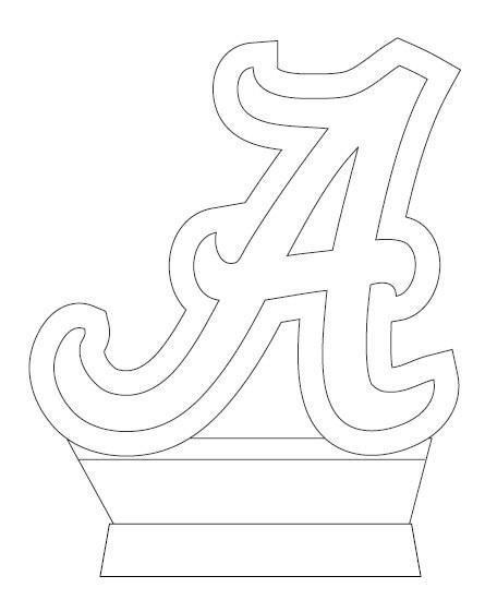 Alabama.......AWESOME STENCIL
