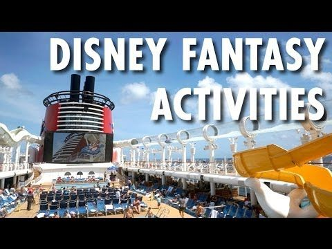 ▶ Disney Fantasy Review: Activities -- Disney Cruise Line -- Cruise Ship Review – PopularCruising.com
