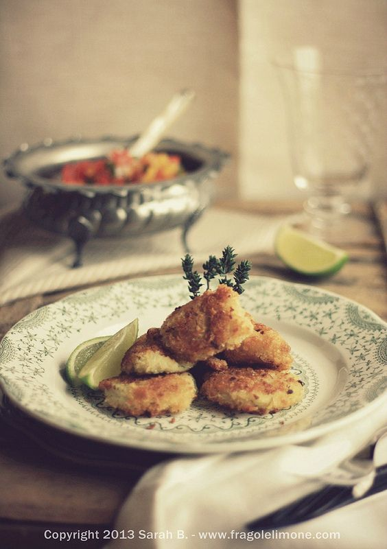 Fishcakes - Tortini di pesce - Sarah Brunella photography