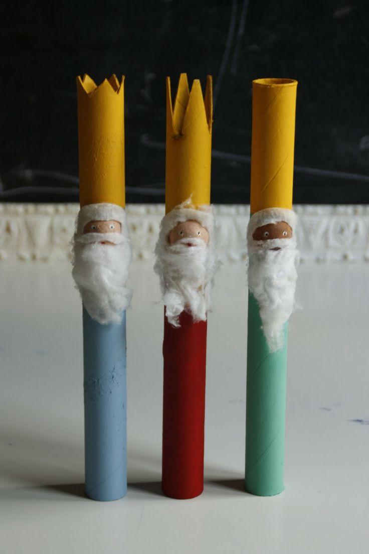 los tres Reyes Magos: