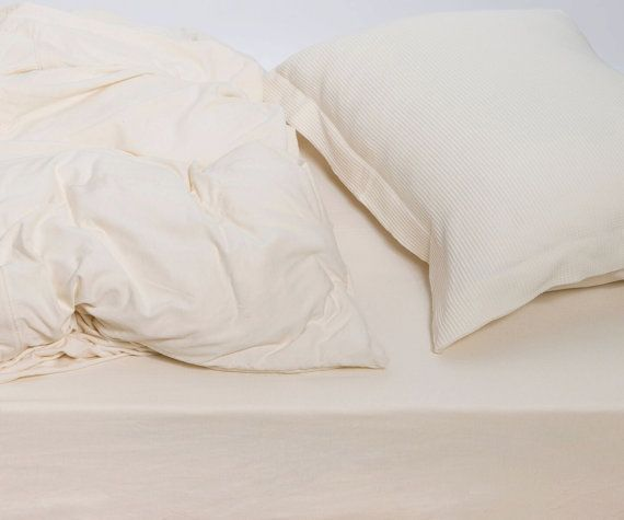 Cream Duvet Cover Set Organic Cotton Duvet Cover Queen Thermal Beige Bedding