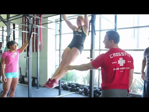 Dusty Hyland of CrossFit Gymnastics gives instruction on how to master the bar muscle-up. For more information and upcoming dates for the CrossFit Gymnastics...