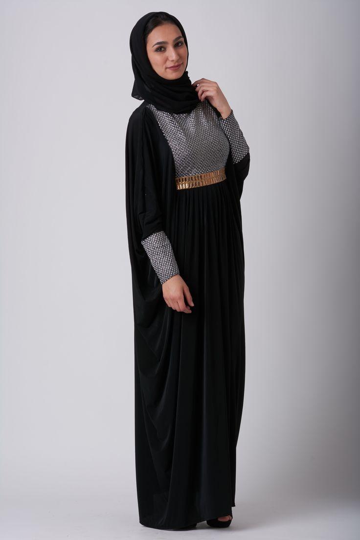 #Eid it up in our signature Starlet Abaya. Visit LittleBlackAbaya.com for more abaya styles #abayadesign #abayafashion