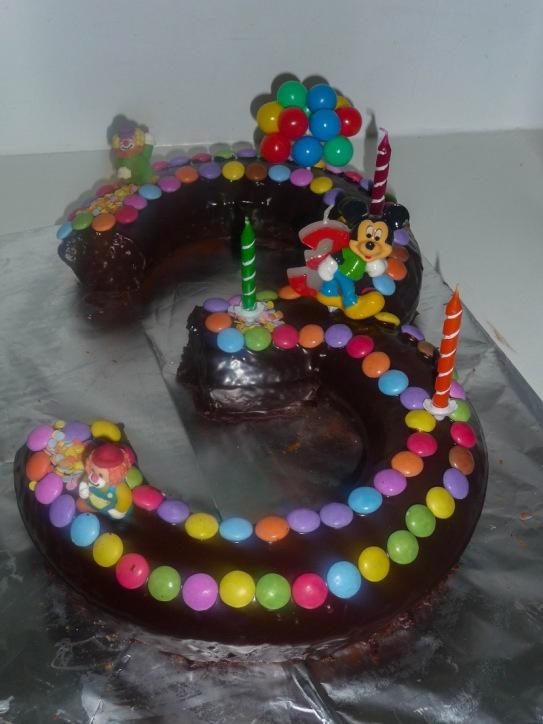 gâteau anniversaire 3 ans