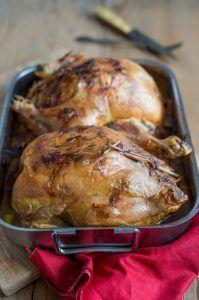 Presque Dinde aux marrons (Weihnachtsgans mit Maronen, naja fast...) fleisch hauptspeisen herbst rezepte weihnachten Französisch Kochen by Aurélie Bastian