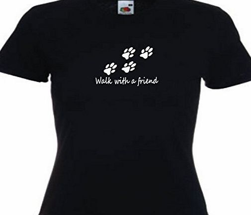 tlux4u Walk With A Friend Ladies t shirt dog walkers dog walking accessories kennels dog lead (M) WALK WITH A FRIEND Printed on a quality black Fruit of the Loom t shirt. This is a professionally printed to order garment to a high standard and are of a high quality us (Barcode EAN = 3188217969796) http://www.comparestoreprices.co.uk/december-2016-week-1-b/tlux4u-walk-with-a-friend-ladies-t-shirt-dog-walkers-dog-walking-accessories-kennels-dog-lead-m-.asp