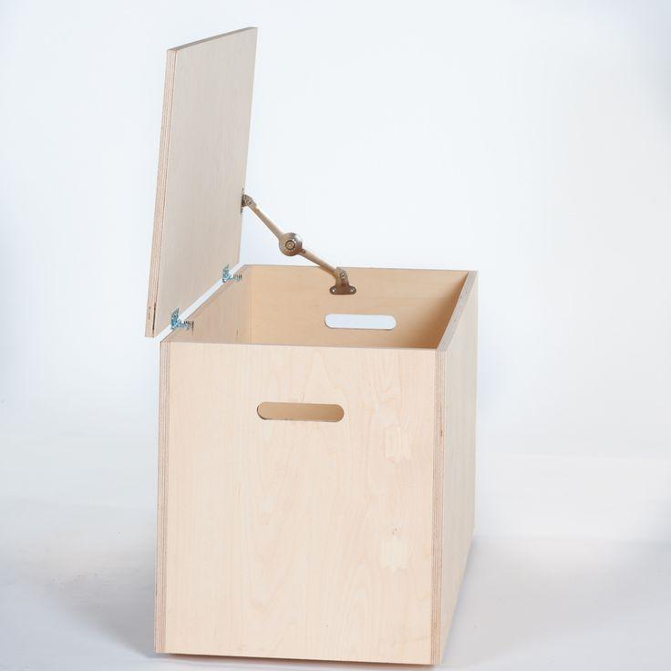 AVA Säilytyslaatikko, vaneri (pienempi)
