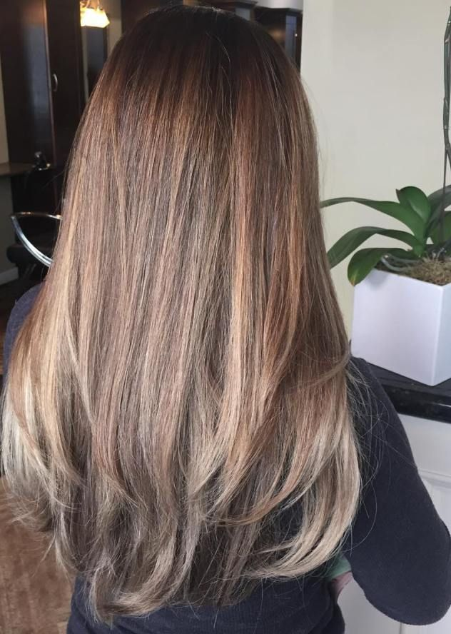 subtle ombre for brown hair