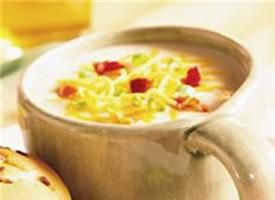Potato Bacon Soup: Creamy Soups, Baked Potatoes, Baking Potatoes Soups, Potatoes Soups Recipes, Potatoes Heavens, Baked Potato Soup, Weights Watchers Recipes, Soup Recipes, Favorite Recipes