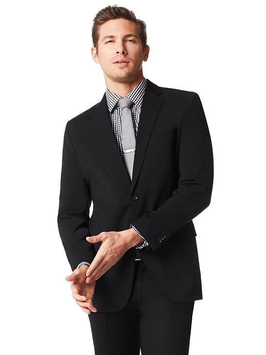 New Listing Men's Banana Republic Tailored Fit Grey Plaid 2 Button Vested Suit Size 42 Reg.