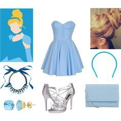 diy teen cinderella costume, note to self remember this for Halloween!
