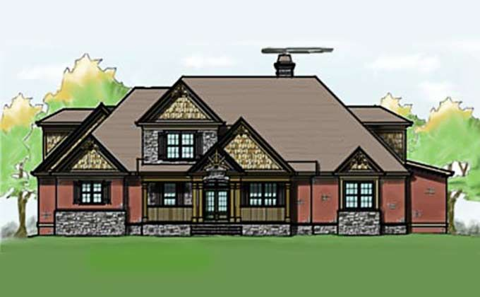 House Plans With Porches Craftsman Style Craftsman And Porch Flooring