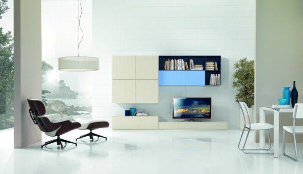 fauteuil-relax-meuble-tv-salon-ouvert-salle-manger | salon moderne ... - Salon Ouvert Sur Salle A Manger