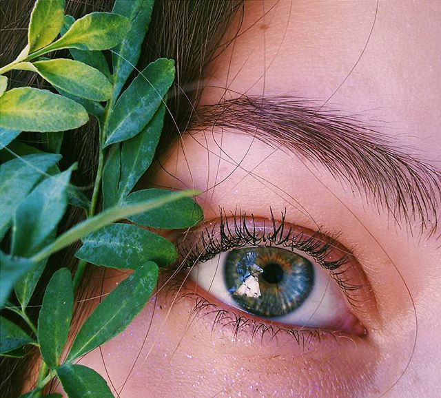 surround yourself with peace and positivity🌿 Olhar, olhos, verdes, natureza.