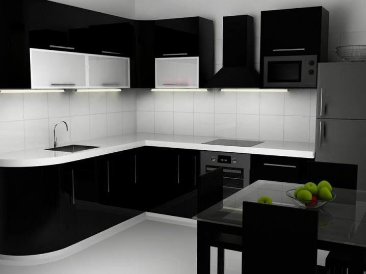 Kitchen Ideas Black And White 236 best kitchen decoration / decoração de cozinha images on