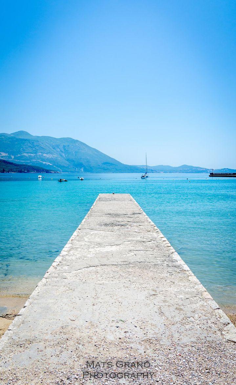 Blue Sea of Mlini, Croatia