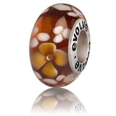 Silver and Some - Evolve - Murano Glass, Alexandra