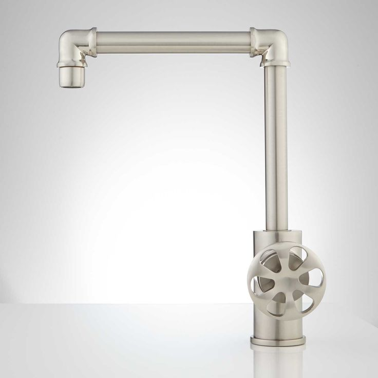 edison tall single hole brass bathroom faucet with popup drain