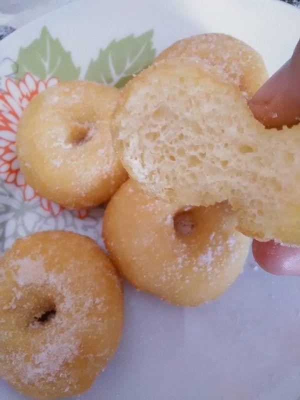Cara Buat Donut Kampung Lembut Tanpa Guna Telur Tanpa Uli Rasa Makanan Resep Makanan Telur