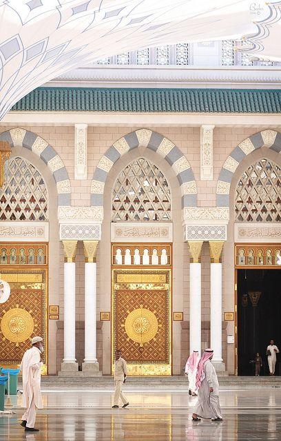 Islamic architecture - Masjidil Nabawi, Madinah