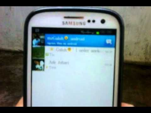 BBM For Android (jelly bean and ice cream sandwich) and Iphone
