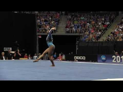 Simone Biles - Floor Exercise - 2016 P&G Gymnastics Championships – Sr. Women Day 2 - YouTube GRACE, GRIT, GREATNESS!!!