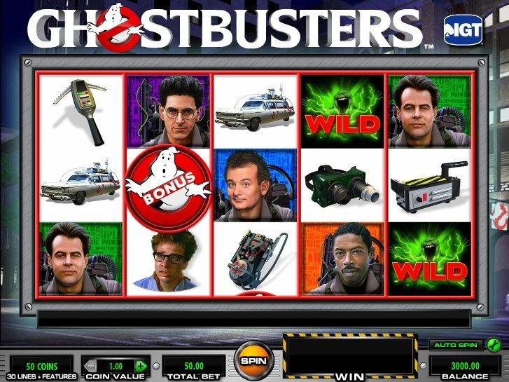New Ghostbusters slot - http://cp4w.com/igt-slots/ghostbusters.html