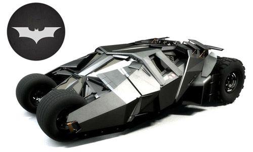 The Tumbler он же Wayne Industries R&D из фильма «Бэтмен: Начало»