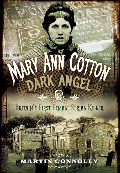 We're obsessed with this ladies life story. This book by Martin Connolly is such an interesting narrative into the insight of Britain's first female serial killer. ‪#‎Books4Friday‬  http://www.pen-and-sword.co.uk/Mary-Ann-Cotton-Dark-Angel-Paperback/p/12432