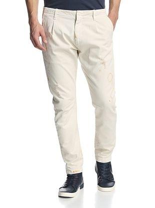 79% OFF Pierre Balmain Men's Skinny Pant (Off white)