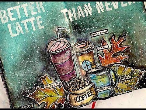 337 best nika in wonderland images on pinterest art journal art journaling tim holtz stamps gelatos malvernweather Choice Image