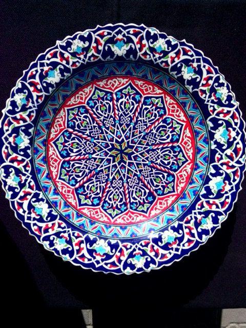 16th Century Turkish Ceramic Hand Made 40 by BUYCARPETANDCERAMIC, $375.00