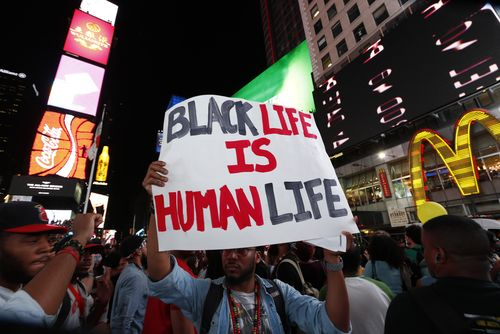 Many white folks aren't violent. But ignorance and lack of empathy make life very unsafe for black people in the United States.