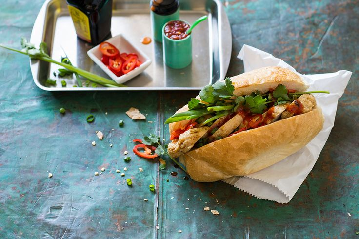 """""""This fish cake baguette is one of my favourites as there are great contrasts of textures – from the crisp baguette to the bouncy fish cakes."""""""