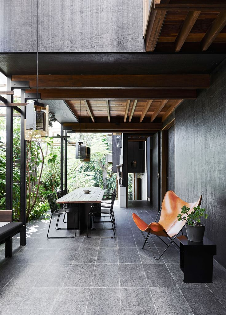 cox rayner architects / left-over space house, paddington queensland