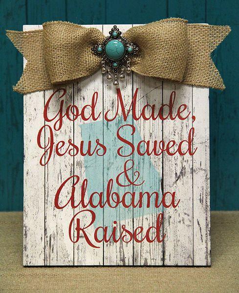God Made, Jesus Saved,