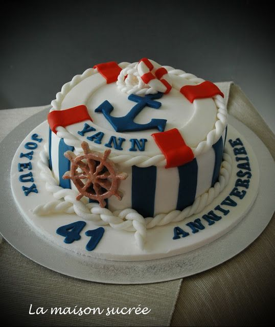 La Maison Sucrée: Un gâteau marin