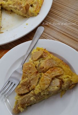 Apfel-Bachis: torta di mele in padella
