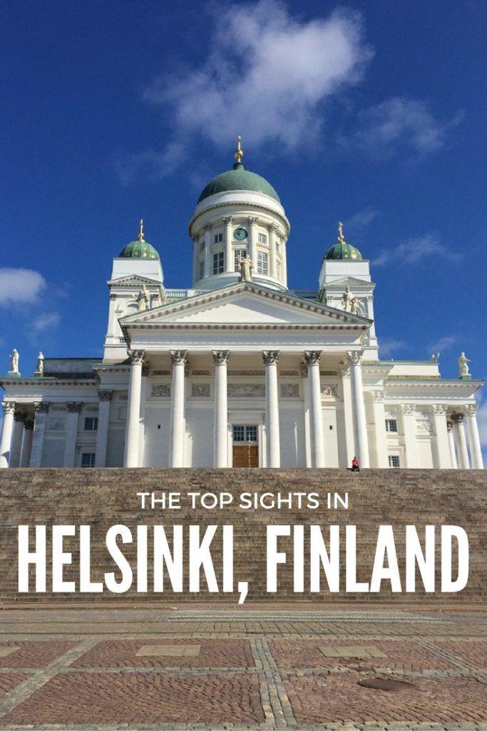 The ultimate guide to the top sights in Helsinki, Finland including the Helsinki Cathedral.