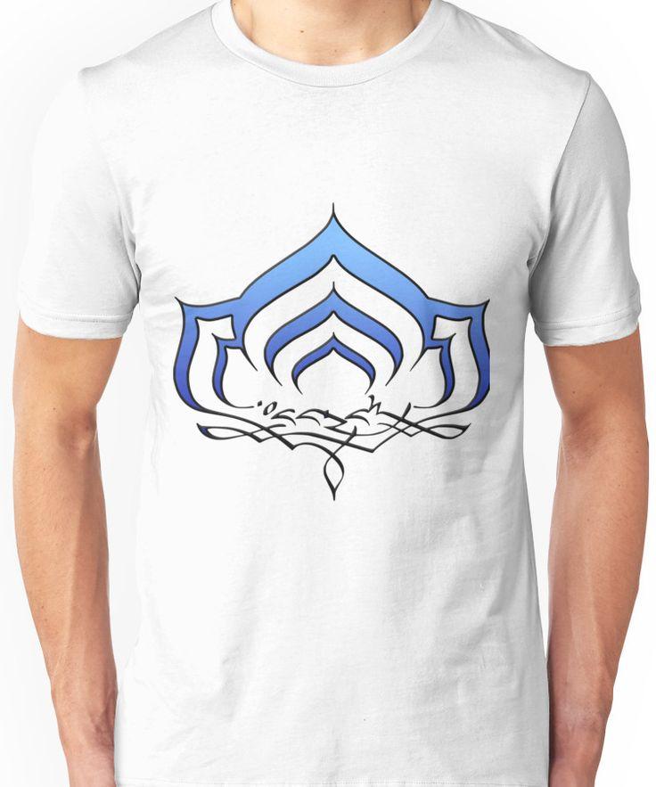Warframe Lotus symbol Unisex T-Shirt