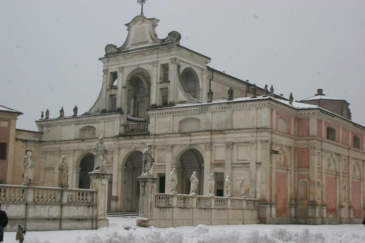 Neve a Mantova, Snow in Mantua  #Mantova #Mantua #cultura #culture #Italia #Italy #neve #snow