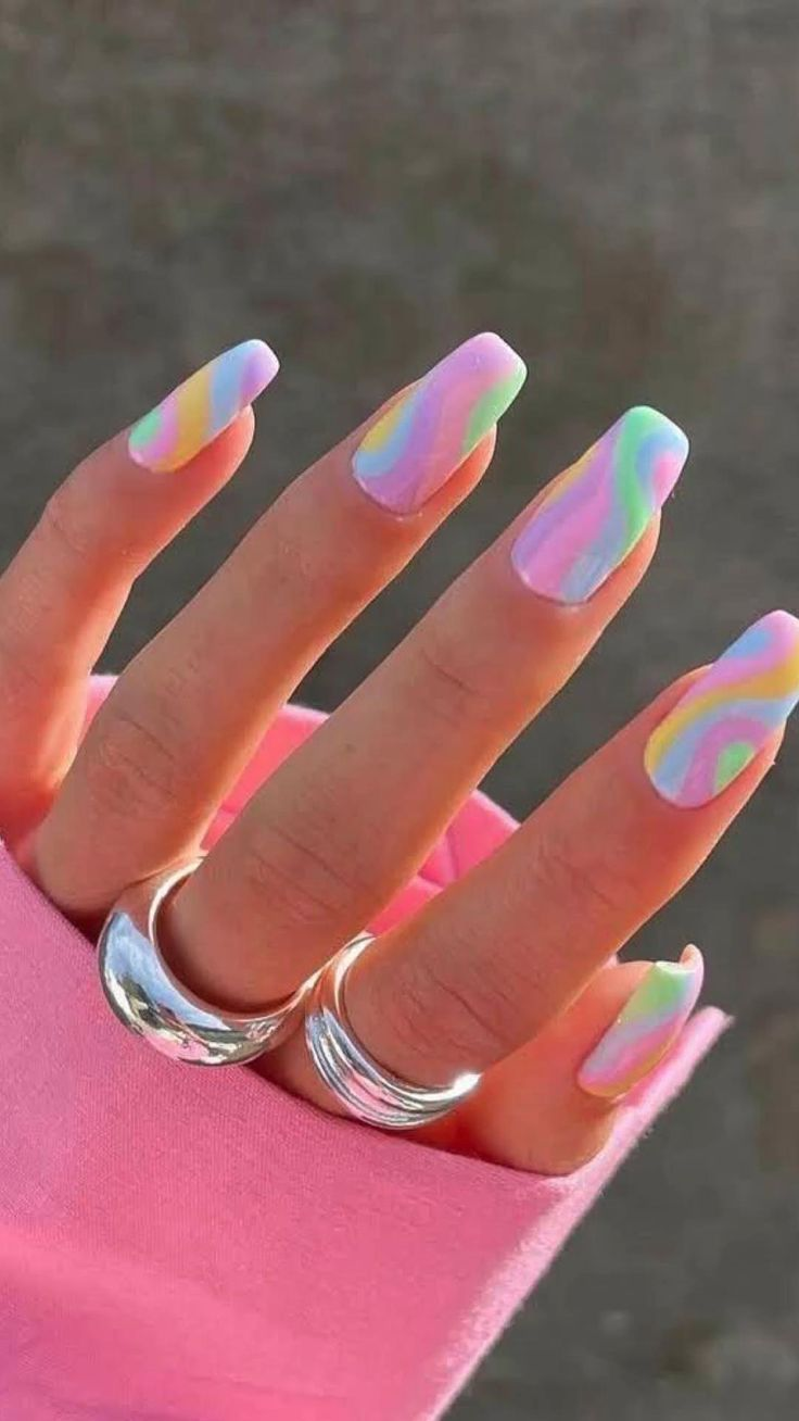 Summer nails: An immersive guide by 𝔤𝔞𝔩𝔦𝔩𝔢𝔞 𝔪𝔢𝔷𝔞 🧚🏻♀️