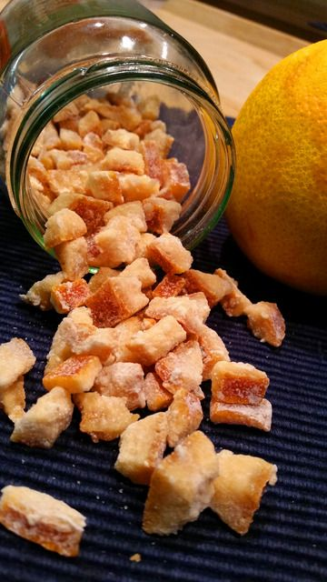 Kleine Dorfküche | Leckere Rezepte aus unserer Küche |  Orangeat selbst gemacht