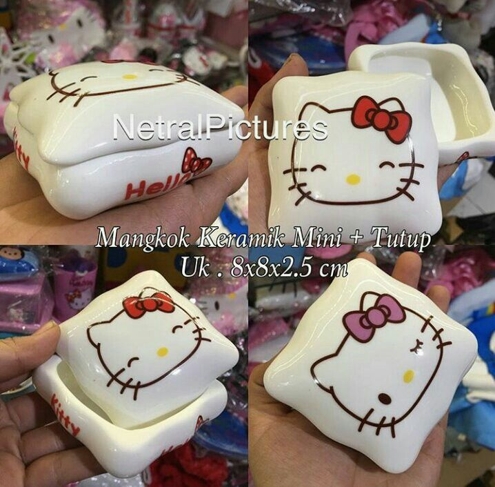 #mangkok #keramik mini #hellokitty @ 50.000
