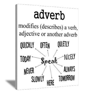 Love teaching adverbs!